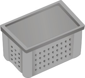 Single Bin Composter: A Plastic Storage Bin with Lid